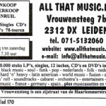 Advertentie All That Music