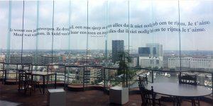 Uitzicht vanaf het MAS