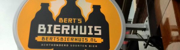 uithangbord Bert's Bierhuis
