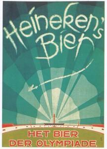 Poster Heineken's Bier