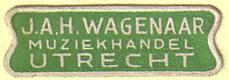 Sticker Wagenaar (kleine variant)