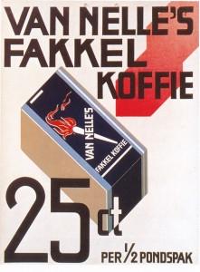 Reclame Van Nelle's Koffie